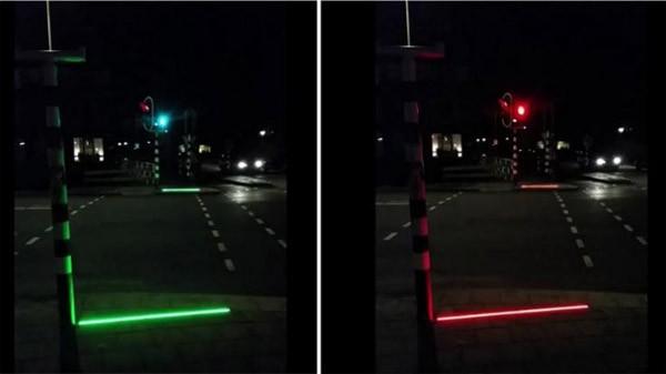 Bodegraven test stoplichten voor smartphone-wandelaars