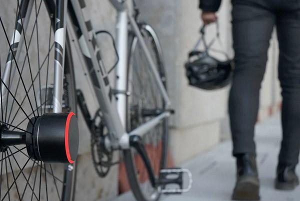 Bisecu: een fietsslot met Bluetooth voor aan je wiel