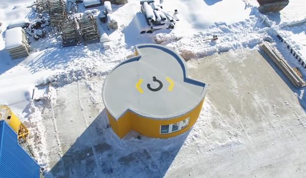 Dit huisje werd in 24 uur gebouwd met een 3D-printer