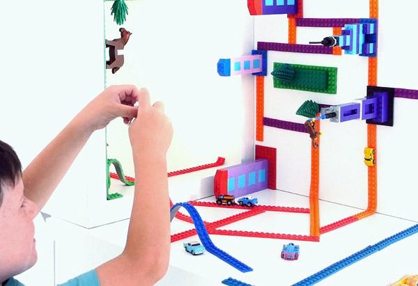 Nimuno Loops: dubbelzijdig LEGO-tape