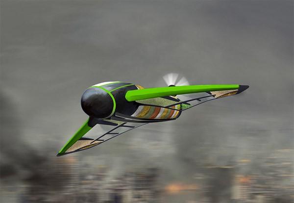 Pouncer: een drone om hulpmiddelen af te leveren