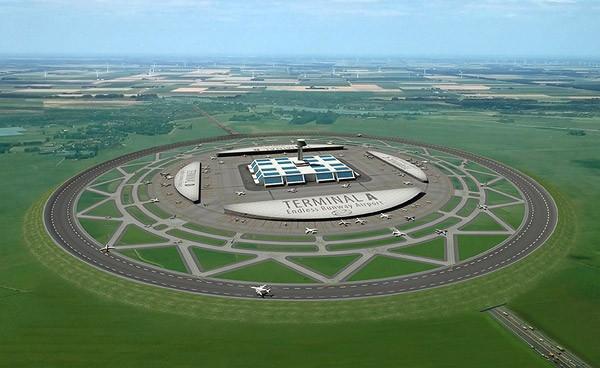 Nederlander bedenkt zeer efficiënte ronde landingsbaan