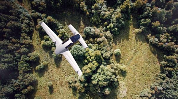 Lilium Aviation ontwikkelt volledig elektrische vliegende auto