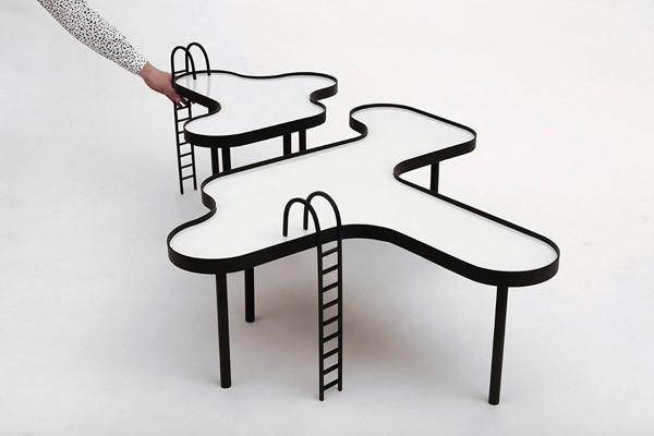 Mesa Piscina: een salontafel geïnspireerd op een zwembad