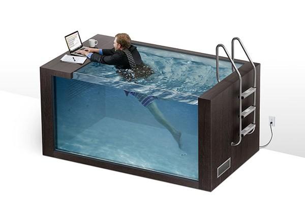 Swim Desk: voortaan zwemmend aan je bureau