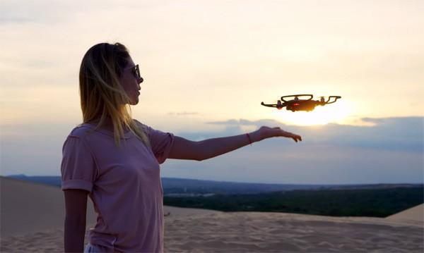 DJI Spark: de drone die je volgt