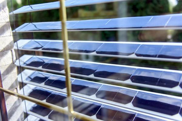 Solargaps Luxaflex Met Ingebouwde Zonnepanelen