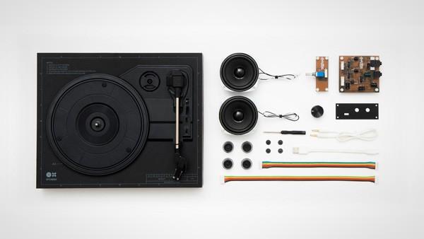 Spinbox: een doe-het-zelf platenspeler