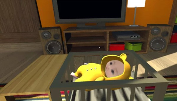Voed een baby op in virtual reality
