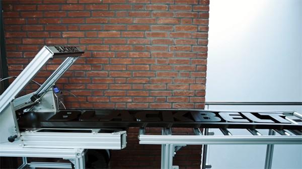 BlackBelt: een 3D-printer die langwerpige objecten print