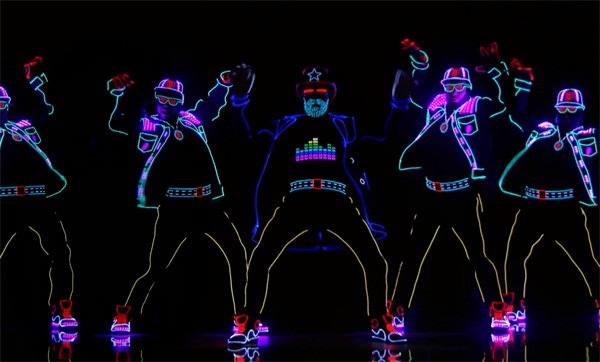 Light Balance: fenomenale dans met LEDs