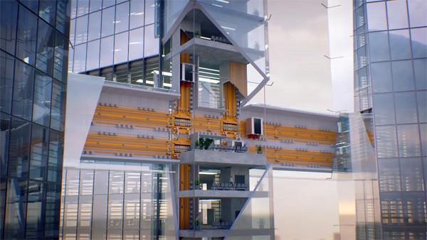 Multi: zo ziet de lift van de toekomst eruit