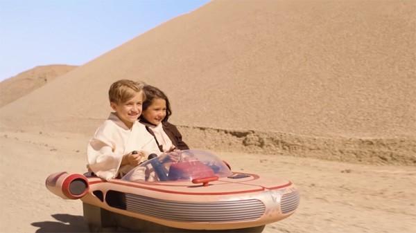 Deze Landspeeder is gemaakt voor een nieuwe generatie Star Wars fans