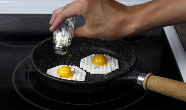 Ontbijt maken met LEGO in stop-motion