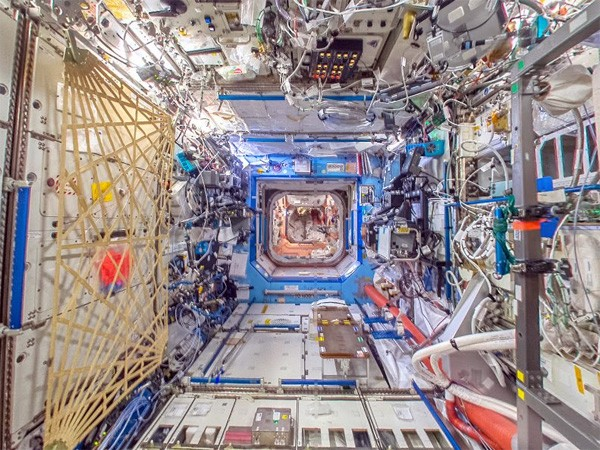 Het International Space Station staat nu in Google Street View