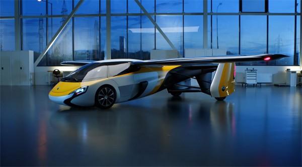 AeroMobil: een auto die in drie minuten vliegklaar is