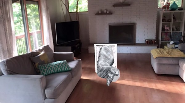 Take on Me als Apple ARkit applicatie