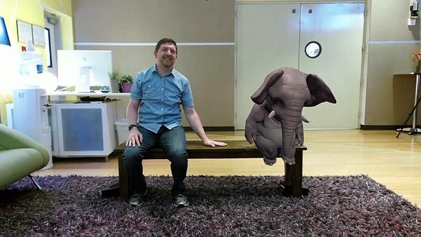 Disney Magic Bench: een toegankelijke AR-ervaring
