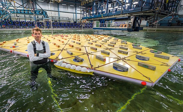 Nederlandse wetenschappers ontwikkelen drijvende eilanden