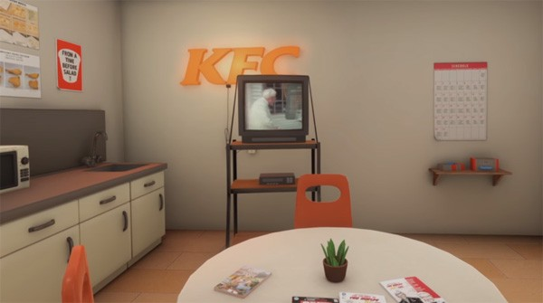 De bizarre VR-ervaring van Kentucky Fried Chicken