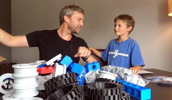 LEGO-sets kun je uitstekend uitvergroten met een 3D-printer