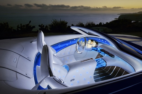 Vision 6 Een Elektrische Mercedes Cabrio