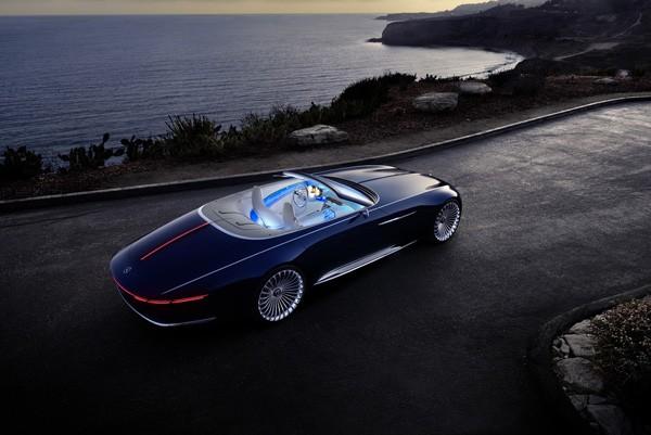 Vision 6: een elektrische Mercedes-cabrio