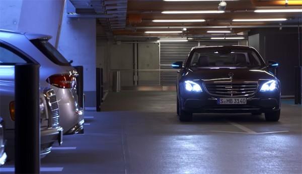 Mercedes AVP: de toekomst van de parkeergarage