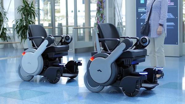 Robotische rolstoelen brengen je autonoom naar de gate van het vliegveld