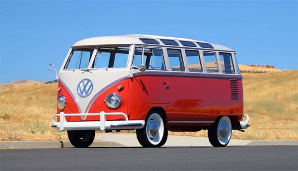 Geweldig gerestaureerde Volkswagen bus uit 1959
