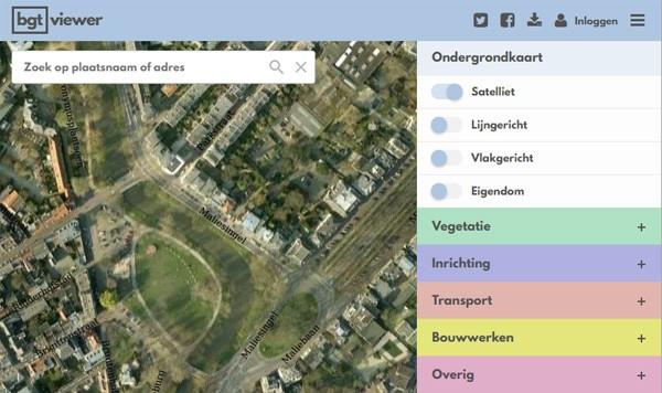 Deze interactieve kaart biedt een schat aan informatie over Nederland