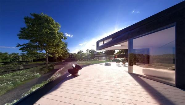 Het spectaculaire Devon House draait mee met de zon