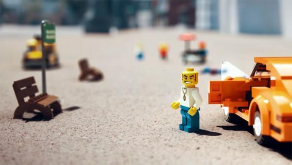 Grand Theft Auto met LEGO-blokjes