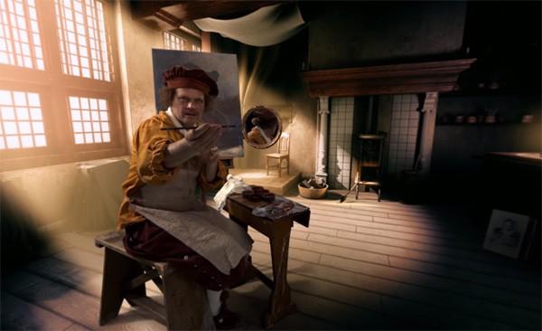 Je kunt nu in virtual reality op bezoek bij Rembrandt