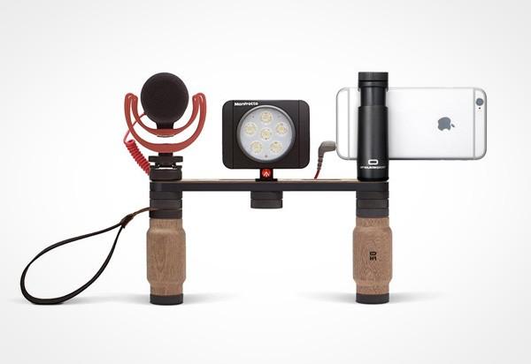 Shoulderpod: een modulaire accessoire voor smartphone-fotografen