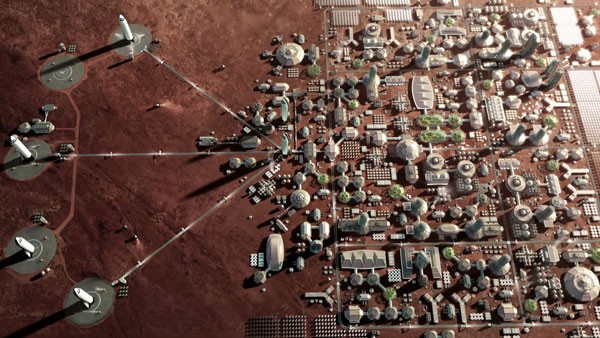 SpaceX gaat in 2022 naar Mars, dit is de stad die men wilt bouwen