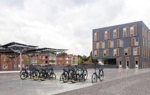 Nederlandse student ontwikkelt het perfecte fietsenrek