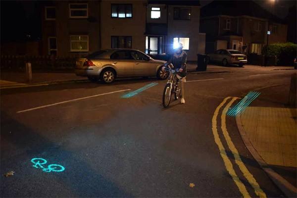 Beacon: de fietshelm die ongelukken voorkomt met lasers