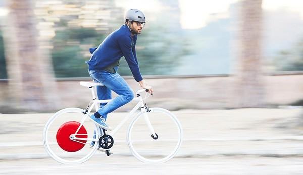 Het Copenhagen Wheel maakt fietsen elektrisch
