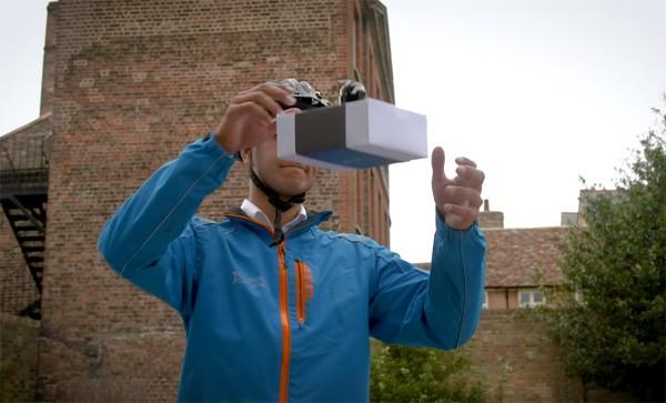 DelivAir bezorgt pakketjes in je hand met behulp van drones