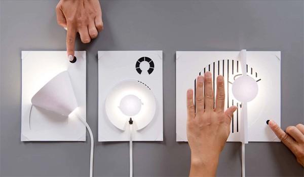 Maak zelf een lamp met geleidende inkt