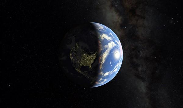 Met Google Maps kun je nu de Aarde verlaten