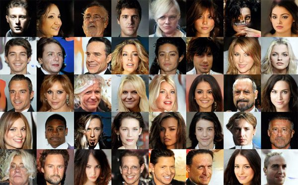 Kunstmatige intelligentie maakt een kruisbestuiving van celebrities