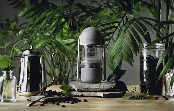 Leverpresso: een draagbaar espressoapparaat