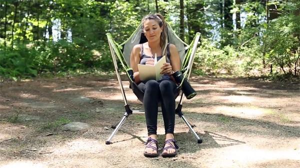Deze stoel is speciaal gemaakt om sterren te kijken