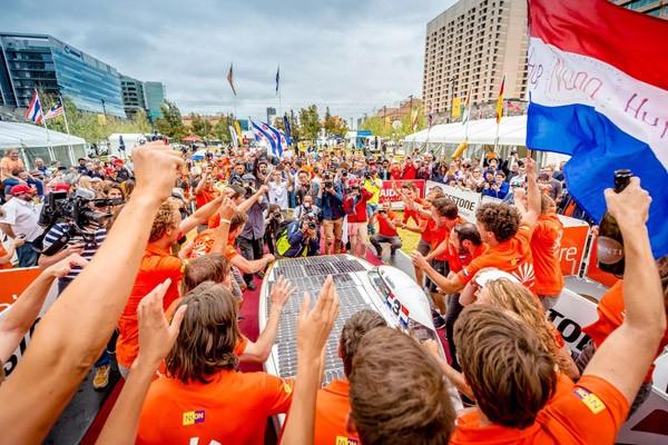 Nederland heeft ook in 2017 weer de Solar Challenge gewonnen