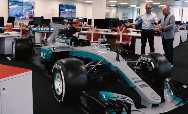 Bizar realistische F1-wagen toont de kracht van augmented reality