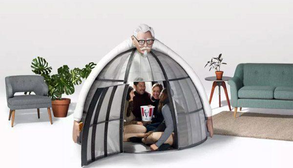 Bizarre hut van de KFC verbreekt al je verbindingen