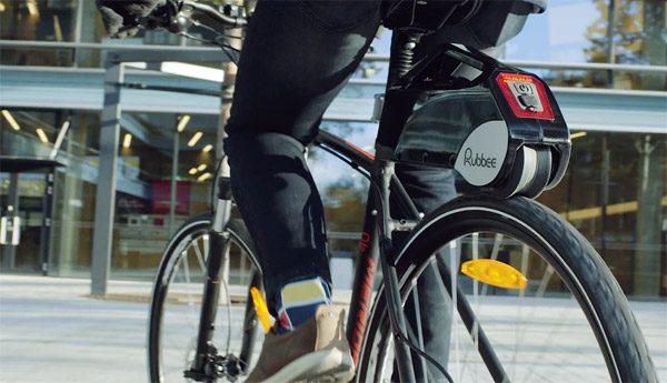 Rubbee: een elektromotor voor op je huidige fiets