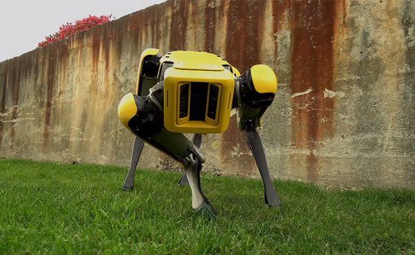 Kijk, de nieuwe robothond van Boston Dynamics